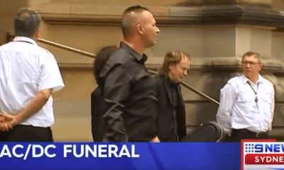 Malcolm Young's funeral was quiet, humble and discreet