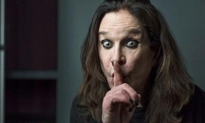 Ozzy Osbourne finger