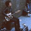 Street musician playing Motorhead Ace Of Spades