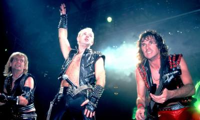 "Listen to the isolated drums, bass and voice track on Judas Priest's ""Living After Midnight"""