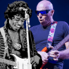 Jimi Hendrix and Joe Satriani