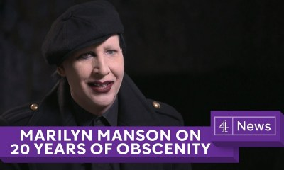 Marilyn Manson talks about broken legs, namesakes, CIA and more