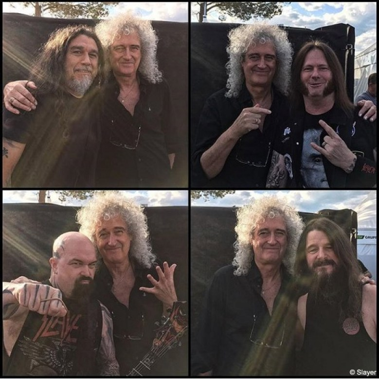 Slayer and Brian May