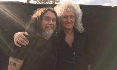 Tom Araya and Brian May