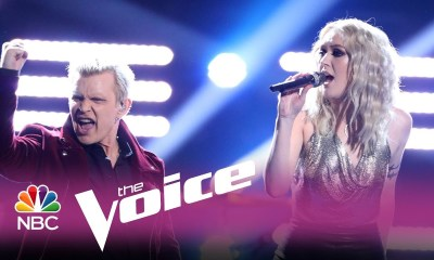 "Watch Billy Idol help contestant to win The Voice singing ""White Wedding"""