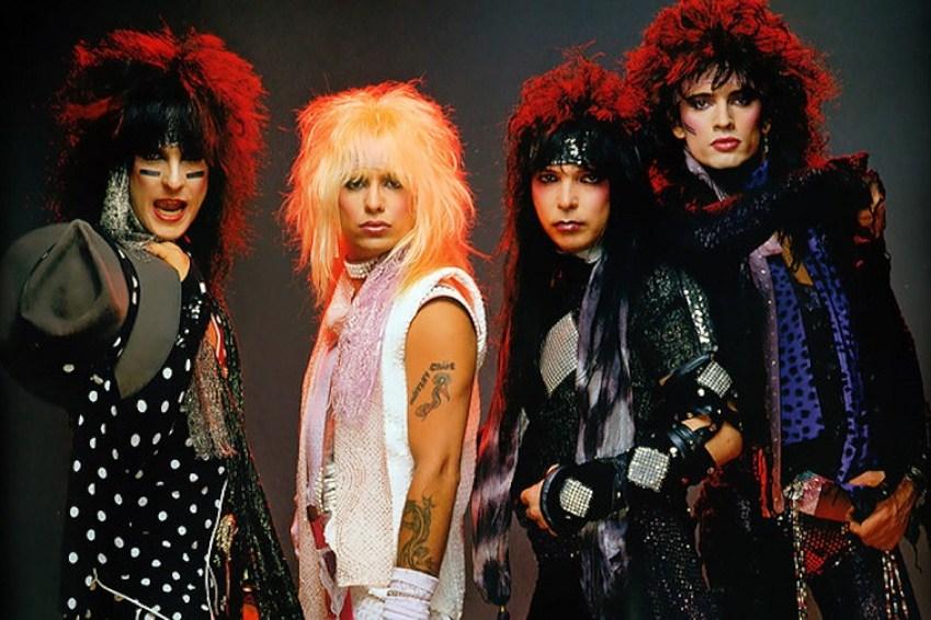 Back In Time: Mötley Crüe performs Beatles' Helter Skelter on US Festival