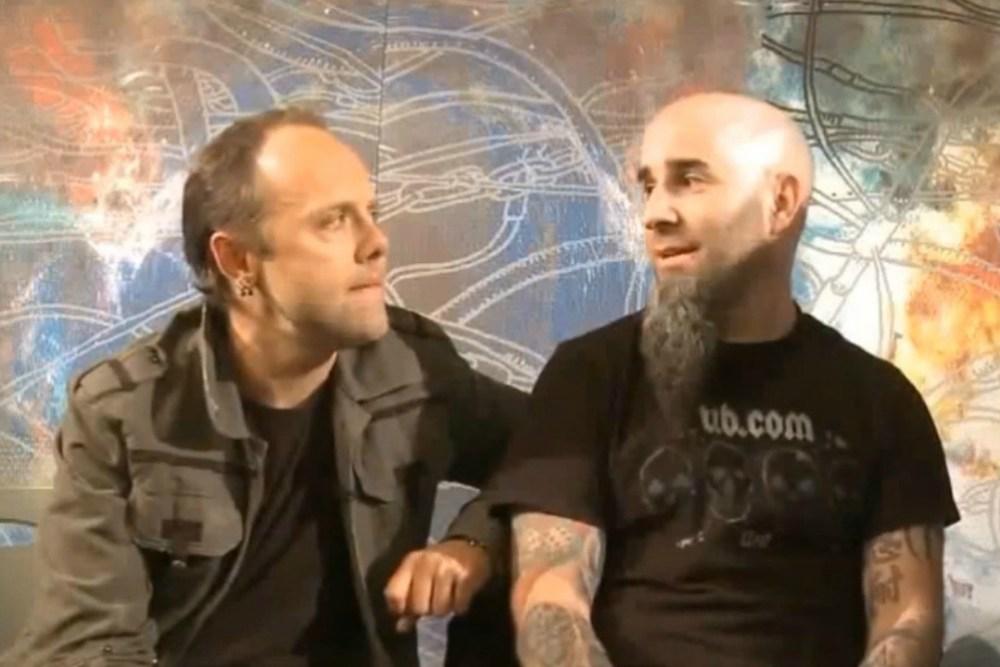 Lars Ulrich and Scott Ian