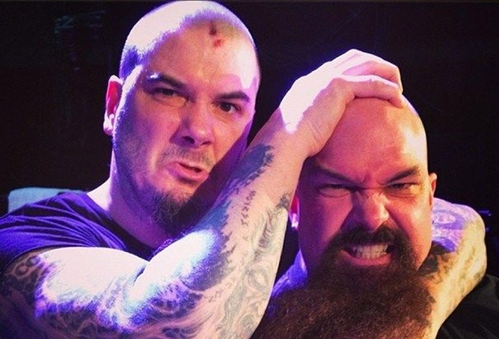 Phil Anselmo and Kerry King