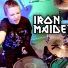 Watch amazing kid drummer performing Iron Maiden's The Trooper