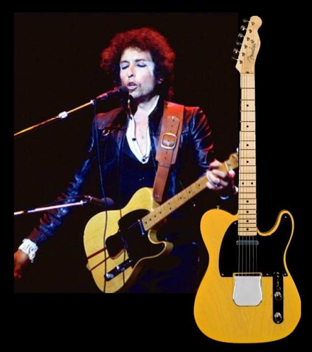 Bob Dylan 1965 telecaster