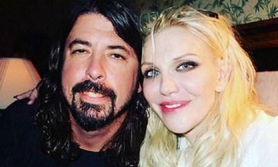 Dave Grohl and Kurt Cobain