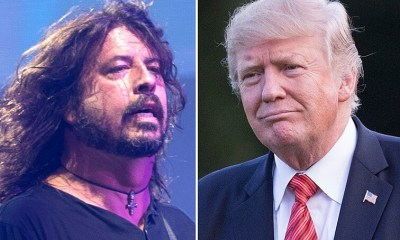 Dave Grohl and Trump
