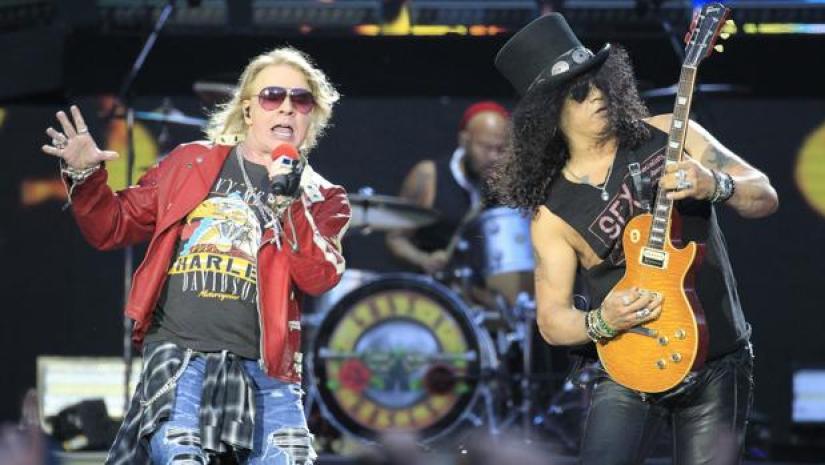 Guns N' Roses 2018