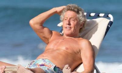 Roger Daltrey at the beach