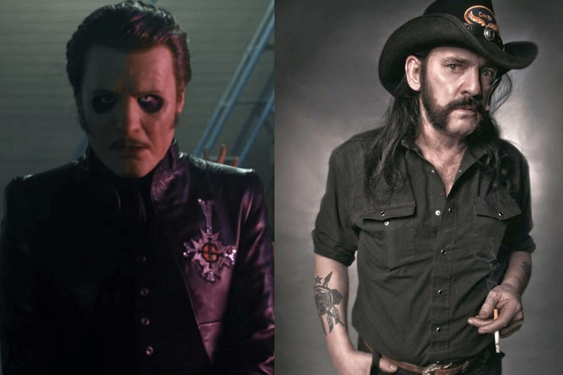 Tobias Forge and Lemmy