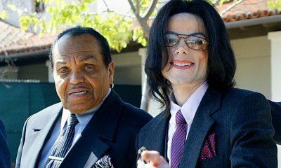 Joe Jackson and Michael Jackson