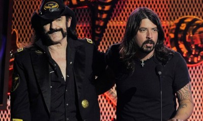 Lemmy and Dave Grohl