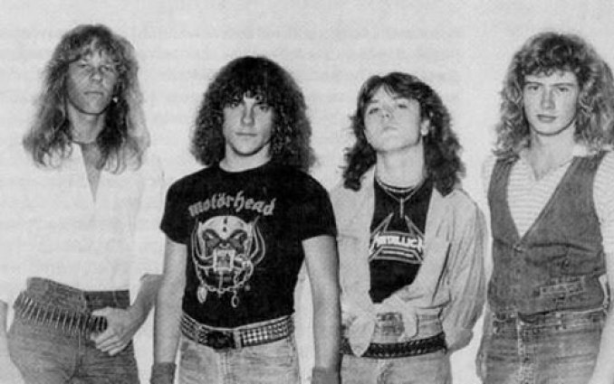 Metallica with Mustaine