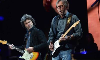 Doyle Brahmhall II and Eric Clapton