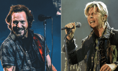 Eddie Vedder and David Bowie