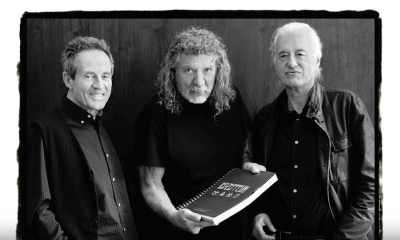 John Paul Jones, Robert Plant and Jimmy Page 2018