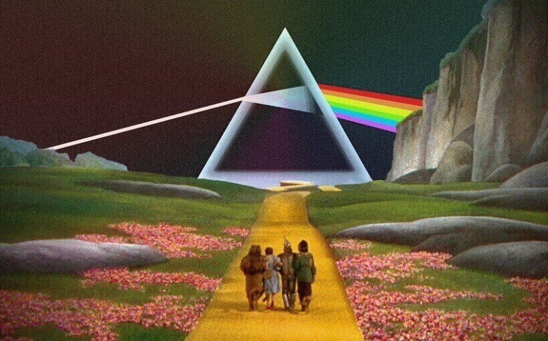 Wizard Of Oz and Pink Floyd