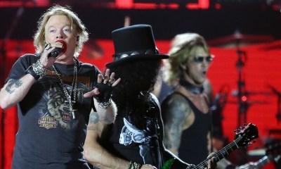 Axl, Slash and Duff 2018