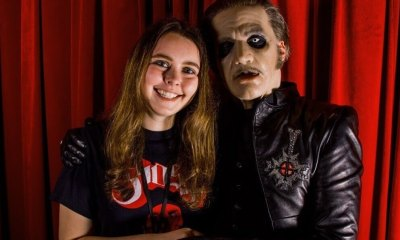 Cardinal Copia and fan