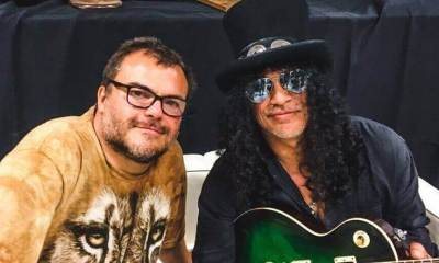 Jack Black and Slash