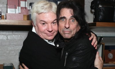 Michael Myers and Alice Cooper