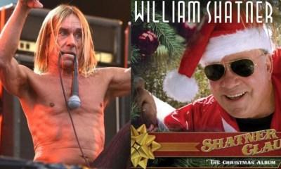 Iggy Pop and William Shatner