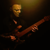 Michael Myers playing guitar