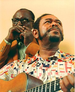 Browny McGhee with Sonny Terry