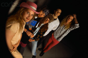 March 1990, Seattle, Washington, USA --- Rock Band Mother Love Bone --- Image by © Karen Mason Blair/CORBIS