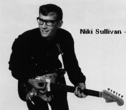 Niki Sullivan played guitar in Buddy Holly and the Crickets