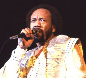 Earth,wind and fire frontman Moe White