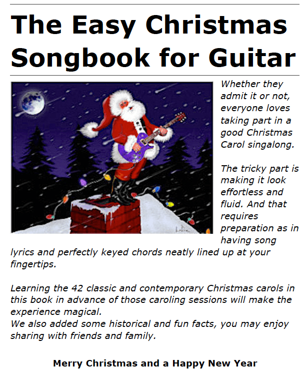 The Easy Christmas Songbook for Guitar - Rock and Roll Paradise