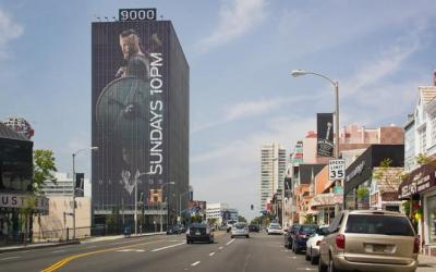 9000 Sunset Building – Home of music and PR firms