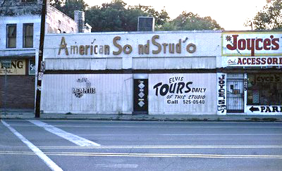 "American Sound Studio – Where Elvis' ""Suspicious Minds"", ""In the Ghetto"" And ""Kentucky Rain"" Where Recorded"