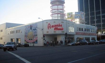 Amoeba Music On Sunset Boulevard In Los Angeles