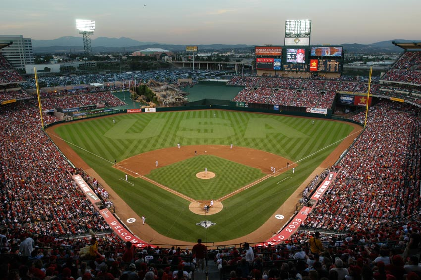 Angels Stadium of Anaheim