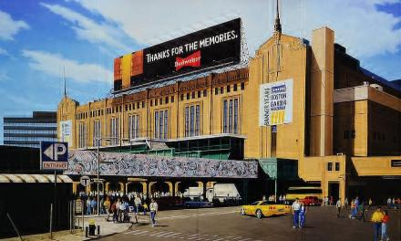 "Boston Garden – Originally Known As ""Boston Madison Square Garden"""