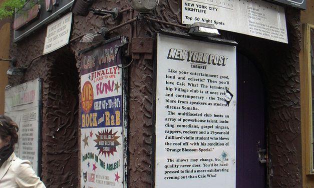 "Cafe Wha? Where Jimi Hendrix Was ""Discovered"""