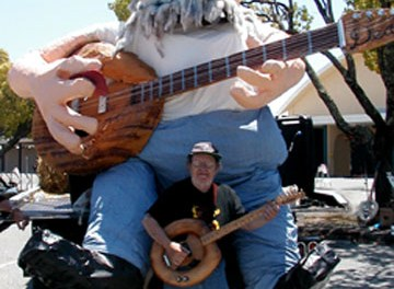 Charlie Deal's Toilet Guitars In Mill Valley California