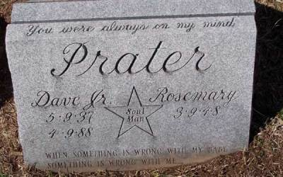 Buried Here – Dave Prater, Founder of Soul Music Group Sam & Dave