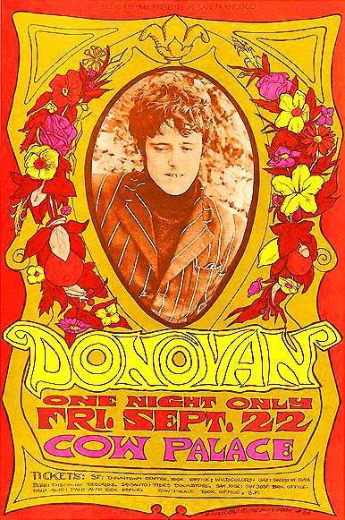 Donovan At The Cow Palace