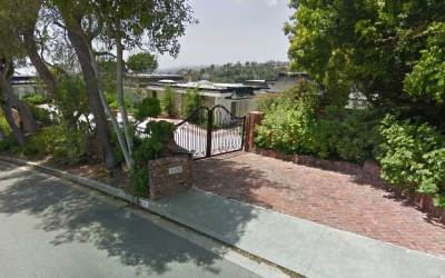 Elvis Presley's Home In Beverly Hills