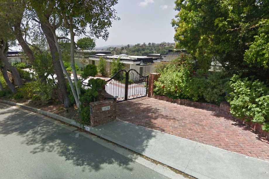 Elvis Presley Home In Beverly Hills