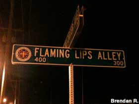 Flaming Lips Alley – An Oklahoma City Downtown Alley Named After Them