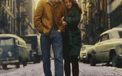 Freewheelin' By Bob Dylan Album Cover Location